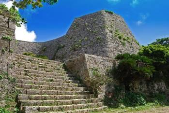 沖縄の古城跡