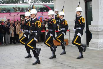 衛兵の交代の儀式
