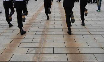 衛兵の交代の儀式(その2)